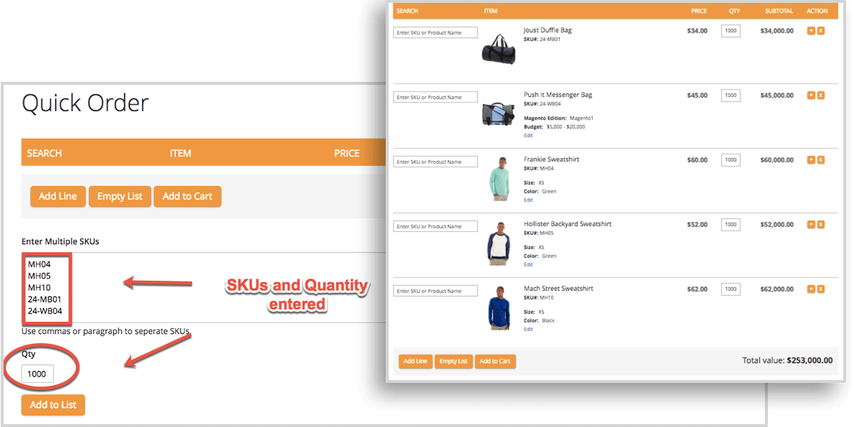 Magento 2 Quick Order Extension | EASY-TO-USE and TIME-SAVING