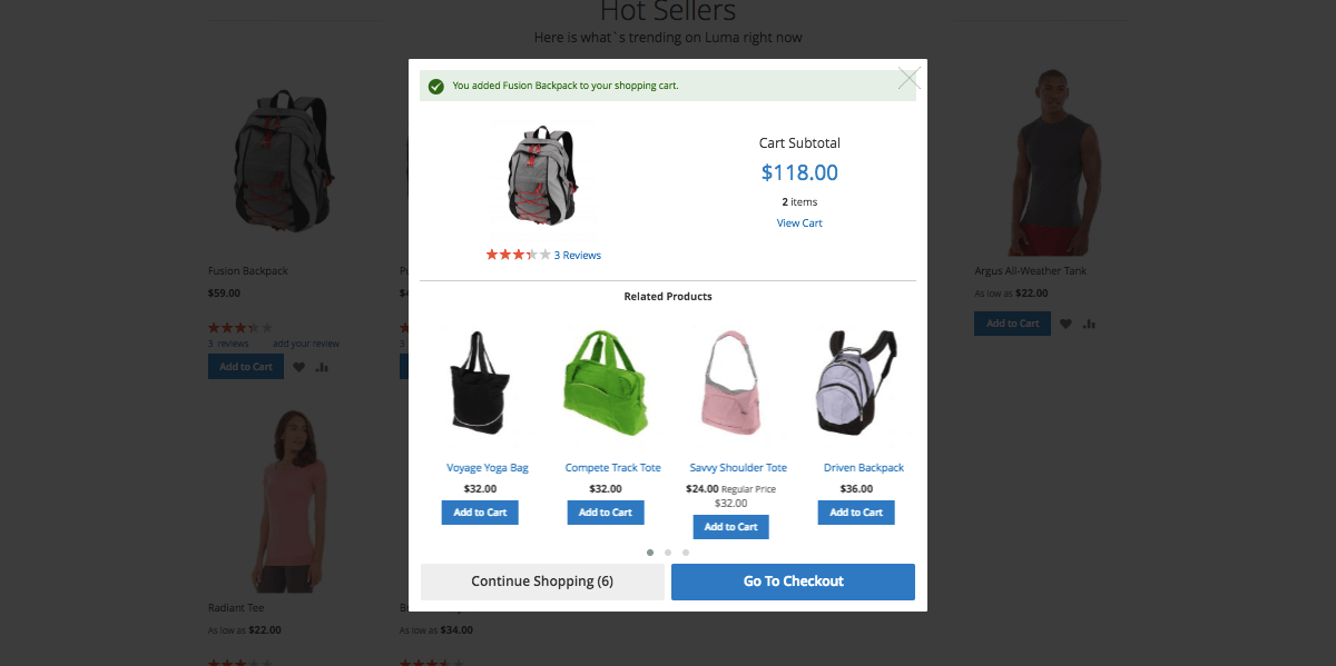Magento 2 Ajax Cart | Simple product