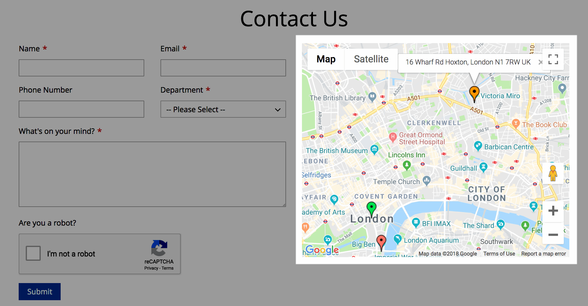 Google Maps_Support multiple locations