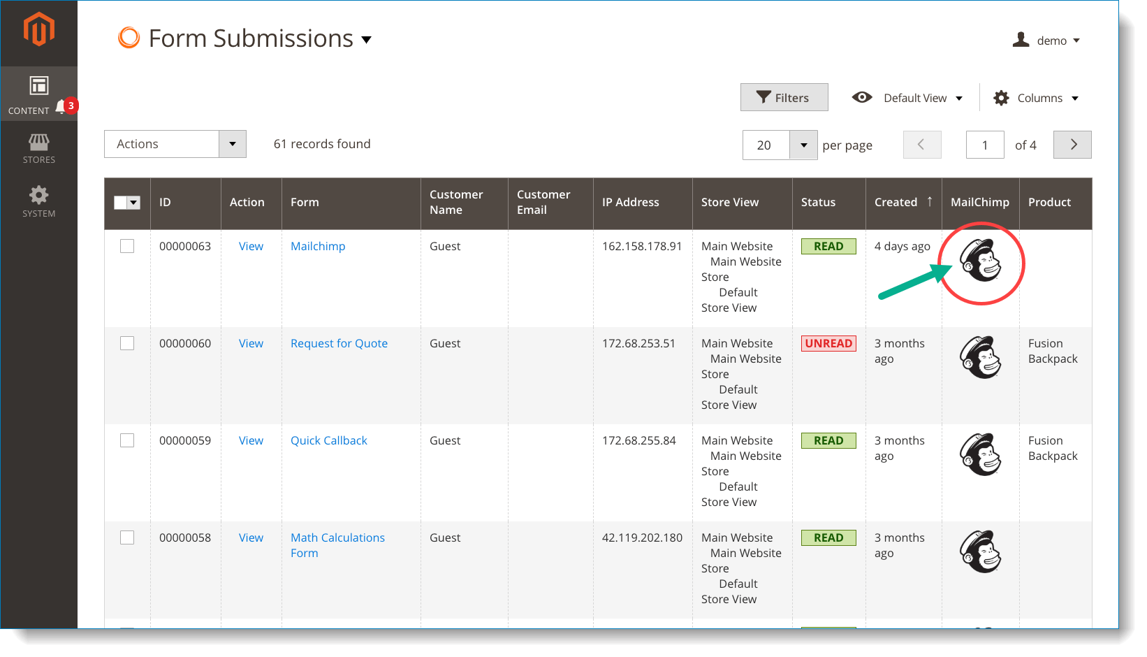 MailChimp | Check whether subscribers were added to MailChimp list