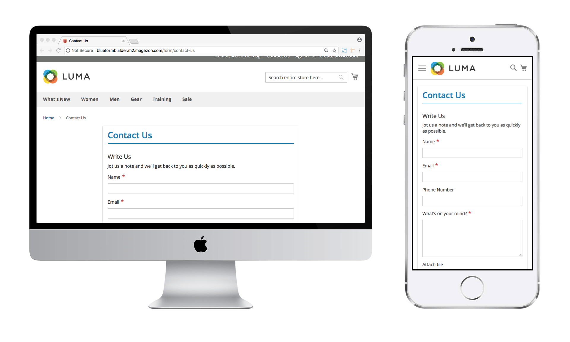 Magento 2 Form Builder feature - Responsive & AJAX-based forms