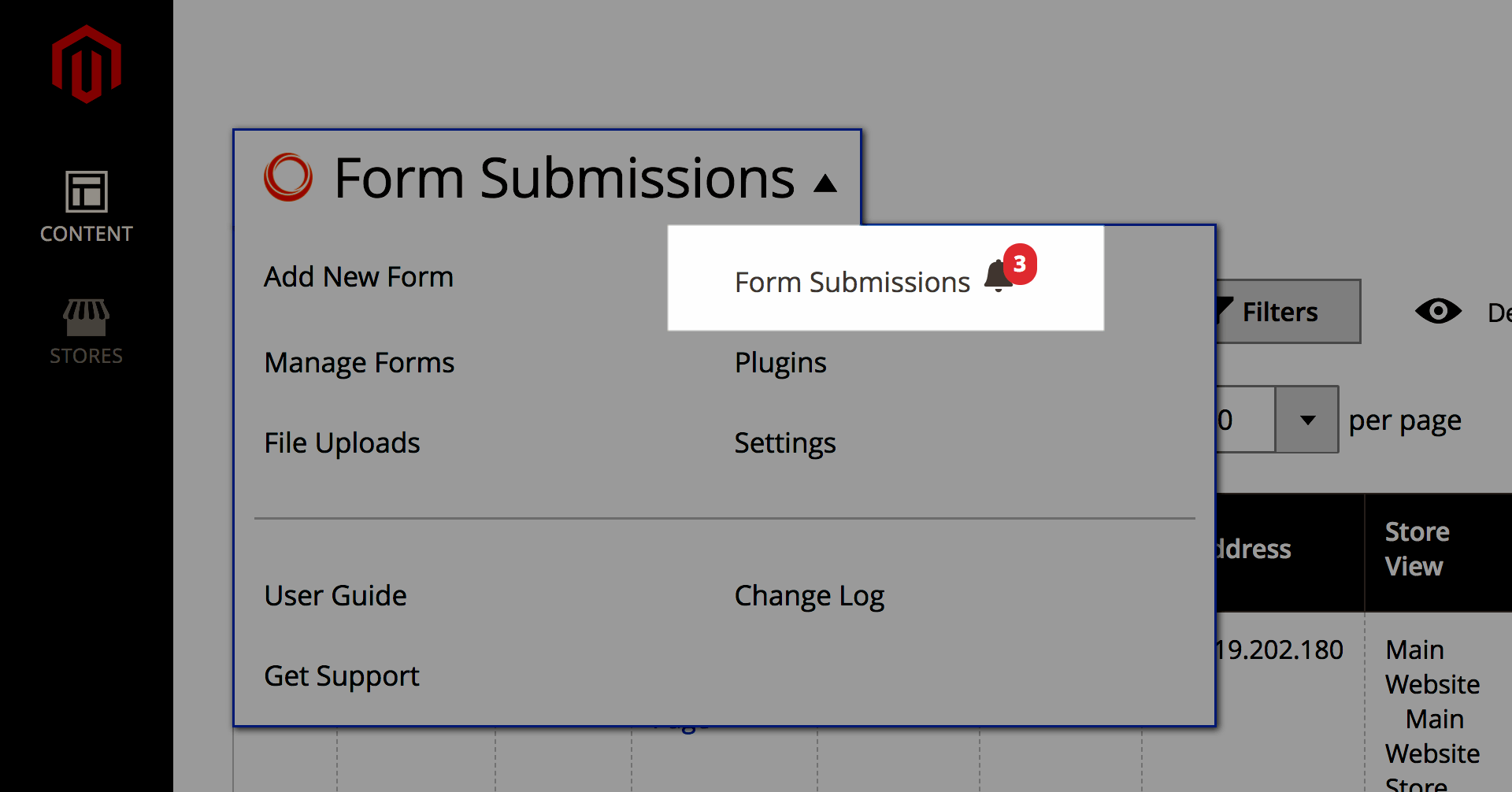 Get notifications of form submissions