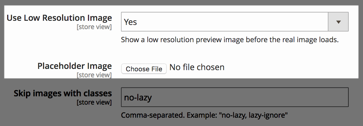 Magento 2 Lazy Load - Create smooth loading transition with blur effect and placeholder upload