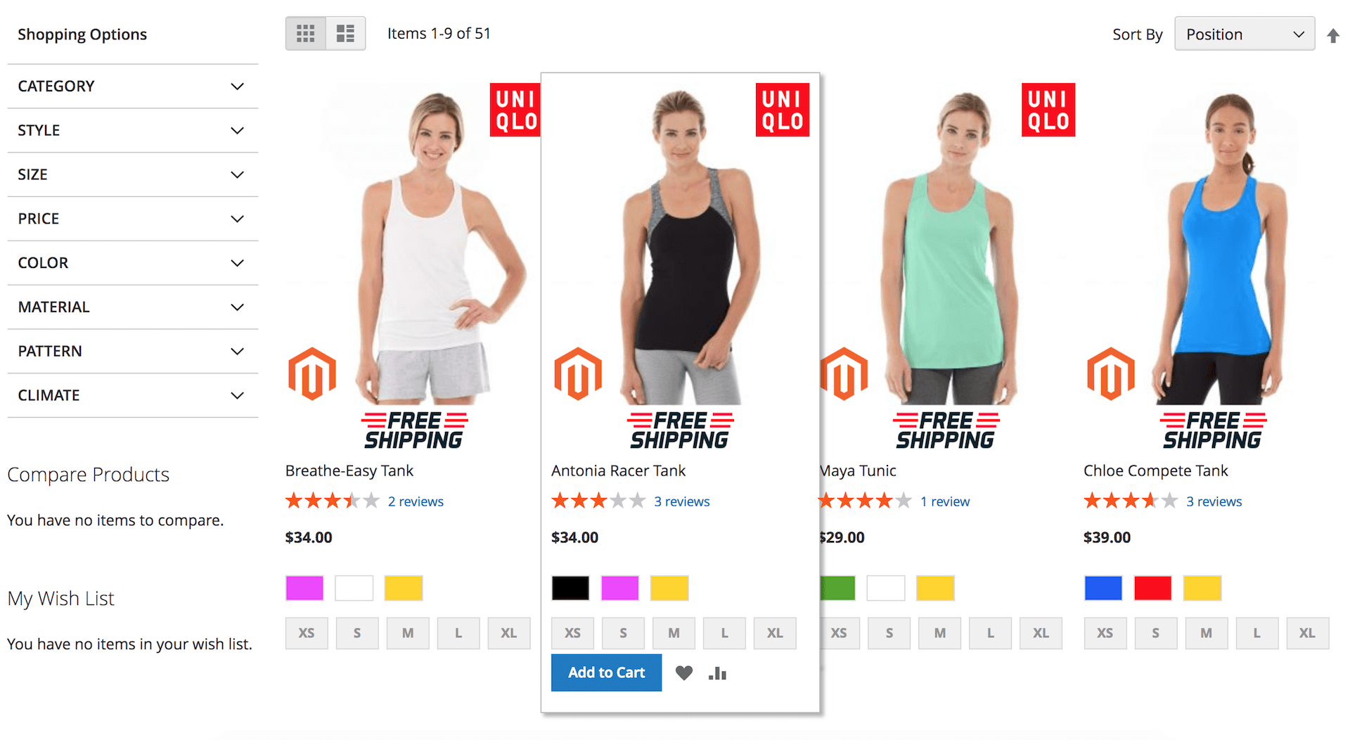 Magento2 Product Labels extension feature - Display product label on product page and product list page
