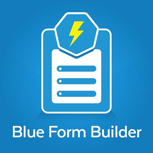 Magento2 Blue Form Builder Extension
