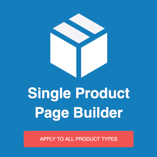Magento2 Single Product Page Builder